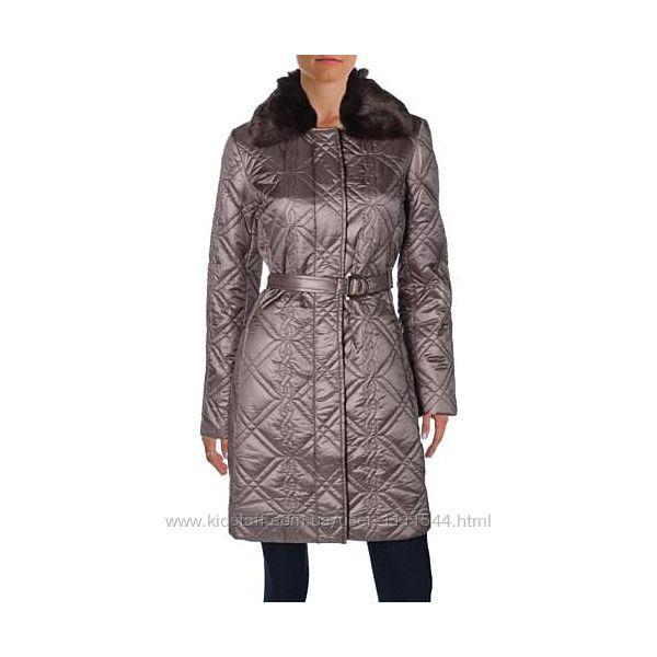 Легкое стеганное пальто большой размер 54-56 xl us