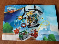 Конструктор 10614 72 Вертолет Бамблби 144 деталей, в коробке .