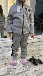 детский спортивный утепленный костюм