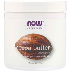 Масло какао Now Foods Solutions Cocoa Butter, 192 мл