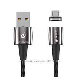 Универсальный магнитный usb кабель Wsken X1 Pro micro usb