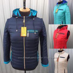 Демисезонные женские куртки трансформеры
