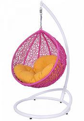 Подвесные кресло качели из ротанга