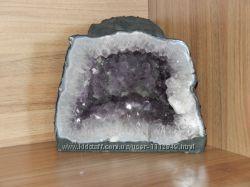 Камень геода жеода жиода кристалл аметист кристал друза