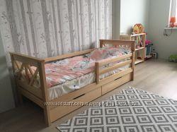 Кровать Прованс детская Лиззи Lizzy Мистер Мебл из дерева Бук