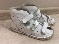 Туфельки сандалики босоножки ортопедические детские для девочки