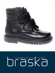 Оригинал - кожаные зимние ботинки ТМ Braska 27, 28, 29 размер