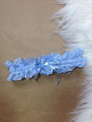 Свадебная подвязка на ножку one size