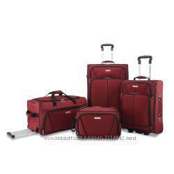 Чемоданы и сумки набор American Tourister от Samsonite, 4 предмета