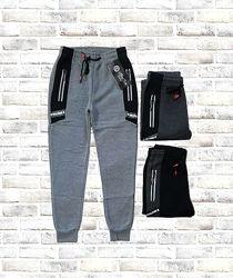 Теплые спортивные штаны с начесом