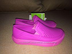 Crocs кроксы слипоны C 11 новые