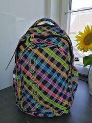 Coolpack Junior 34л чемодан рюкзак на колёсиках с выдвижной ручкой