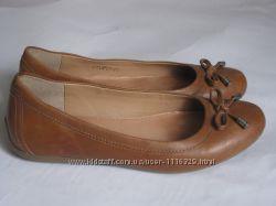 Туфли балетки 5th Avenue 37р. 24см нат. кожа
