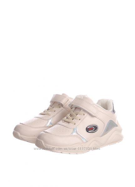 Кроссовки для девочки Jong Golf 31, 32, 33, 34, 35, 36р Молочный C2444-6