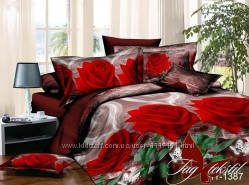 Двуспальный комплект постельного белья, ткань polycotton