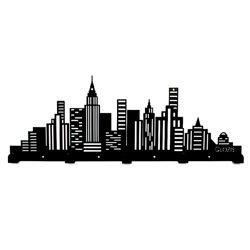 Вешалка настенная City металлическая