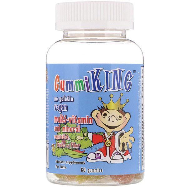 iHerb. Gummi King, Мультивитаминно-Минеральная добавка, с овощами, фруктами