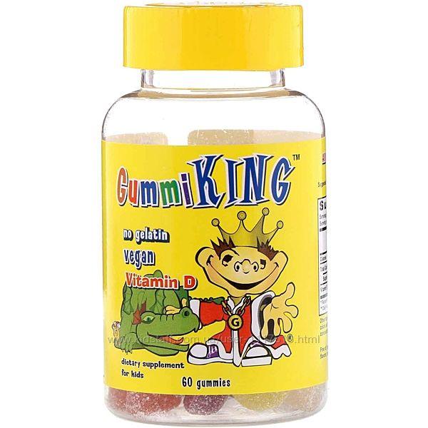 GummiKing, Vitamin D for Kids, 60 шт, Айхерб, Iherb