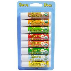 IHerb. Sierra Bees, Натуральные бальзамы для губ. Гигиенические помады. Айх