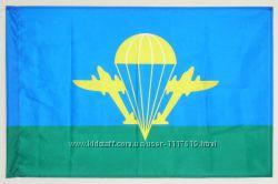 Флаг ВДВ. Воздушно-десантные войска. ДШВ. Десантно-штурмовые. Большой выбор