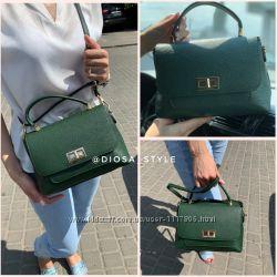 Divas bag сумка кожаная Италия