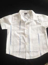Продам рубашку на мальчика Next на 1-2 года