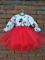 Платье Минни Маус детское нарядное для девочки