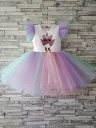 Платье Лол для праздника торжества