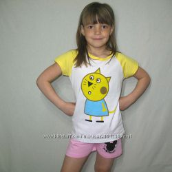 Яркие футболки для деток