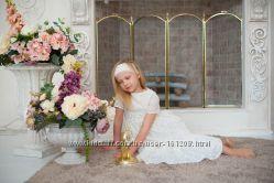 Элитные детские платья из батиста и хлопка.