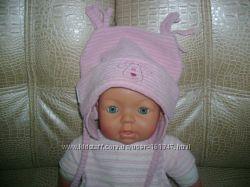 Флісова шапочка ERGEE для красуні до 12 міс.