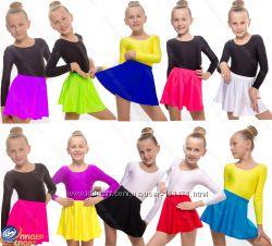 Одежда для гимнастики и танцев. Купальники, юбки, лосины, велотреки.