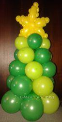 Елочка из воздушных шариков
