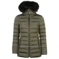 Куртка Firetrap Lux Bubble Jacket теплая зимняя размер C, М