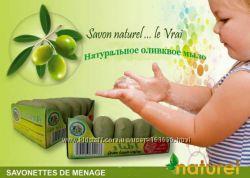 Мыло натуральное оливковое