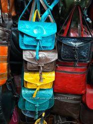 Кожаные сумки небольшого размера