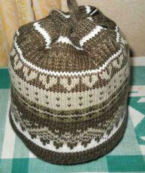 Яркая шапка Fonem 56-60 размер.