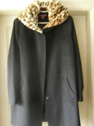 Полушерстяное пальто Jessika London 54-56 размер