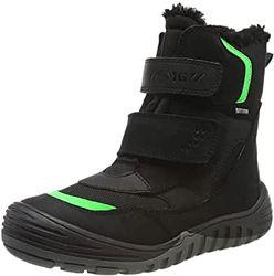 Якісні зимові чобітки primigi на хлопчика, шкіра, gore-tex 31р.