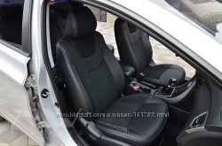 Чехлы авточехлы для Hyundai Elantra 5 MD