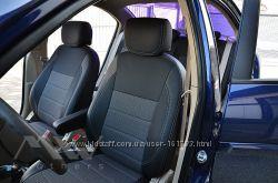 Авточехлы MW Brothers на Hyundai Accent Verna и Solaris