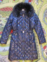 Пальто пуховое GF FERRE оригинал на девочку р. 13-14лет может и на XS