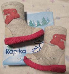 Валеночки валенки КАПИКА kapika  для девочки р. 24 идут на 22-2321-22