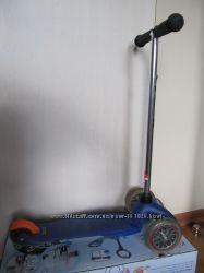 Самокат Micro Mini 3в1 от 1 до 5 лет полный комплект бу хорошее состояние