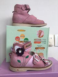 Босоножки для девочки ортопедические Orsetto р27 18см Розов Woopy р30