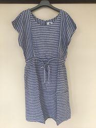 Платье женское  OLD NAVY Лёгкое кэжуал Лён-вискоза средней длины