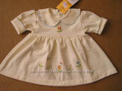 Платье на девочку на бирке р. 74 см