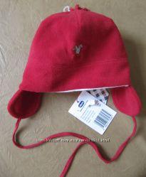 CHICCO деми шапочка унисекс  флисс на подкладке 2 размера 48 см  и 50 см