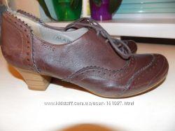 Немецкие Стильные Туфли-Ботильены Mark р-р38. 24. 5см Германия