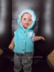 Комбинезон Вельветовый на стеганной подкладке для кукол Baby Born